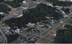 北九州学術研究都市の近郊にVTOL実験予定地(未整地)があります。