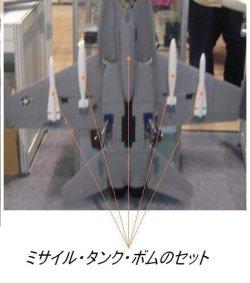 画像1: タンク・ミサイルセット