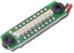 画像1: GWS/オンボードインジケータ(LiPo 1〜4 セル電圧メータ)